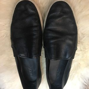 Vince perforated sneakers size 10 GUC